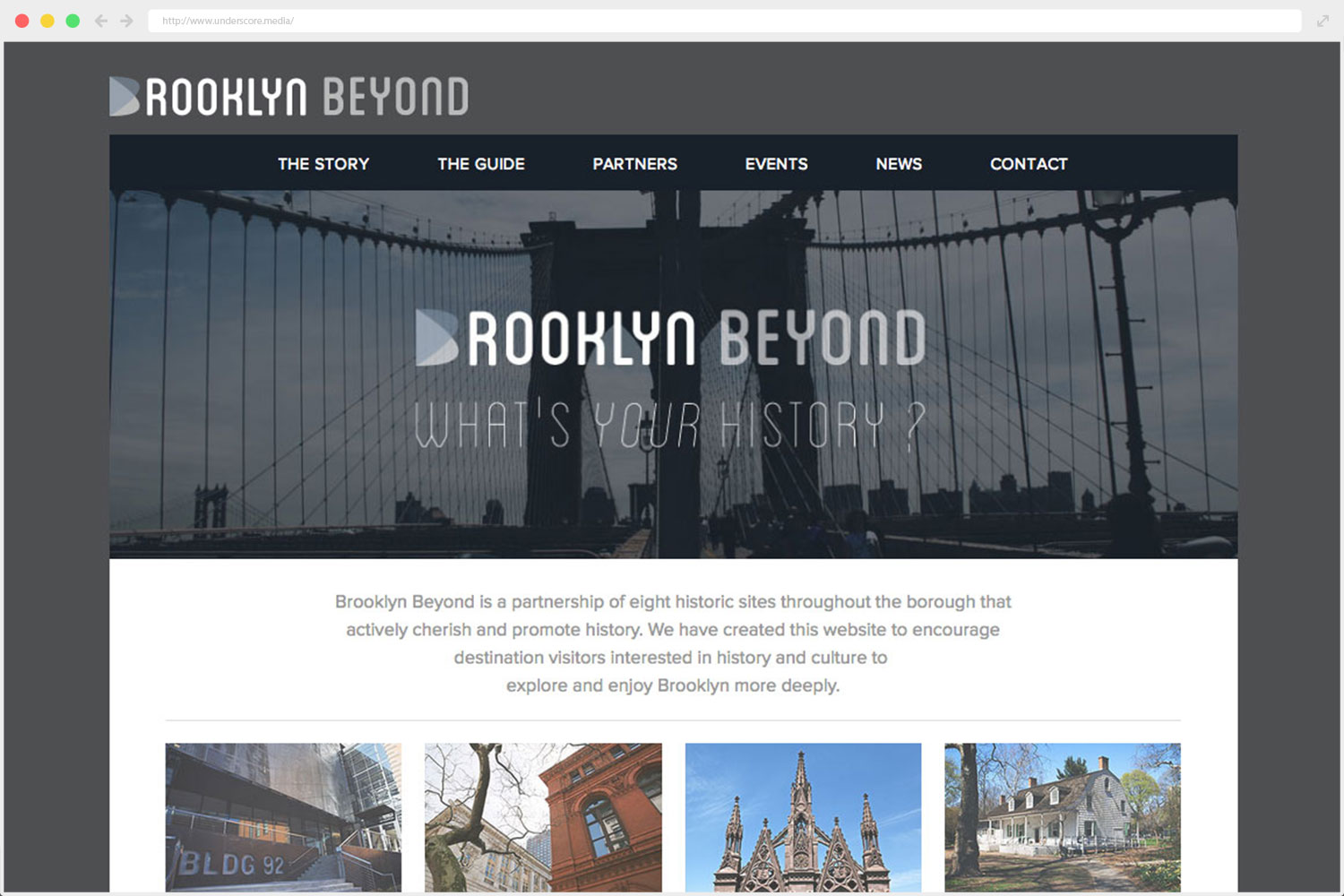 Brooklyn Beyond web design